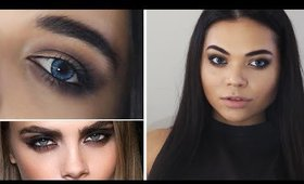 "Cara Delevingne Inspired ""Grunge"" Eye Makeup 