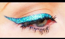 Intense Glitter Eyeliner Made Easy