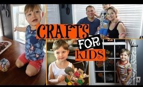 FALL CRAFTS FOR KIDS 🎃