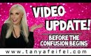 Before The Confusion Begins... | Video Update | Tanya Feifel-Rhodes