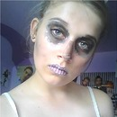 Simple Candy Skull Makeup