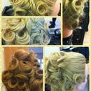 My long hair up idea