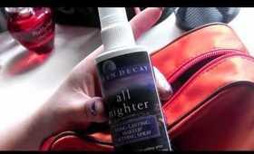 KateVlogs: What's in my travel make-up bag (Michael Kors)