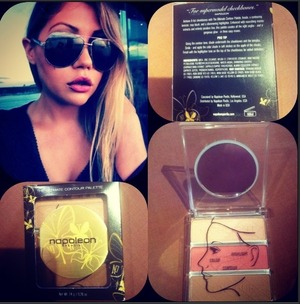Love my all time favorite NAPOLEON PERDIS CONTOURING KIT! perfect for any time any where! 3 in 1 easy to pack! :) <3