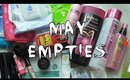 May 2015 Empties!! Anastasia Beverly Hills, First Aid Beauty, NYX, and more!