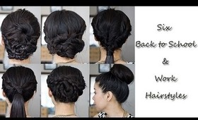 6 Simple Back-to-School/Work Hairstyles