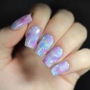 Pastel Galaxy Nails!