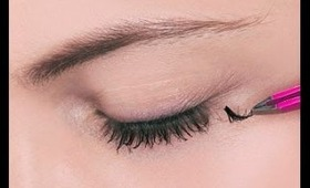 How-to apply individual eyelashes