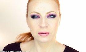 Pink Smokey Eyes With Makeup Geek Eyeshadows