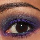 Smokey Purple and Blue