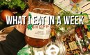 WHAT I EAT IN A WEEK : $200 SHOPPING CHART