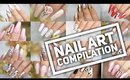 Acrylic & Gel Nail Art Tutorials!   Nail Art Design Compilation