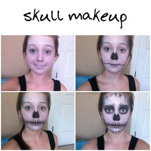 a little skull pictorial, please comment feedback 😋
