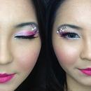 Princess Bubblegum Inspired Makeup Look