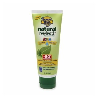 Banana Boat Natural Reflect Kids Sunscreen Lotion SPF 50+