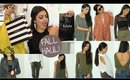 MAKEUP + FALL FASHION HAUL & TRY ON!