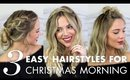 3 Christmas Morning Hairstyles for All Hair Lengths
