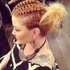 Celtic cornrows