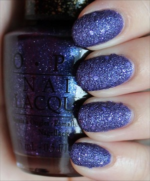 Liquid Sand from the Mariah Carey Collection. See more swatches & my review here: http://www.swatchandlearn.com/opi-cant-let-go-swatches-review