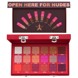 Jeffree Star Cosmetics Mini Nudes Bundle: Volume 2 & Blood Sugar Eyeshadow Palette Bundle