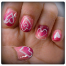 Valentines / Heart Nails