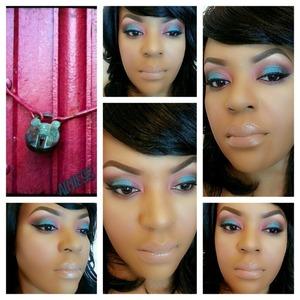 "Color padlock.  Lorac eyeshadow ""Negligee"""