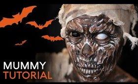 Mummy | Cristress of the Dark | Body Paint Tutorial
