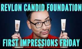 Revlon Candid Photoready Foundation Review | Affordable Drugstore First Impressions | mathias4makeup