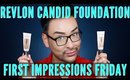 Revlon Candid Photoready Foundation Review   Affordable Drugstore First Impressions   mathias4makeup