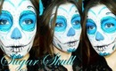Sugar Skull make-up tutorial