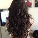 Loving those loose casual Springtime curls