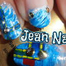 Denim Jean Inspired Nails!