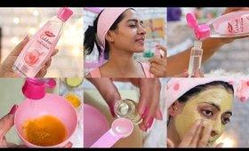 Rose Water Summer Hacks & DIY Face Masks with Dabur Gulabari