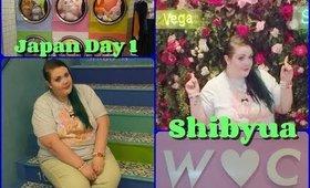 Japan Adventures Day 1: Shibuya & Shibuya 109