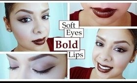 Soft Eyes Bold Lips