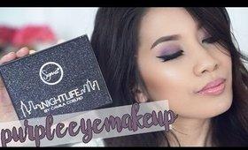 Sigma Beauty Nightlife by Camilia Coelho | Purple Eye Tutorial
