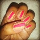Quick neon nails