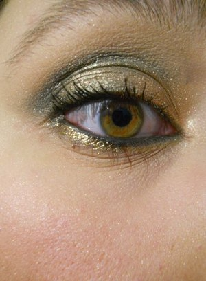Black and Gold New Years Look 2011