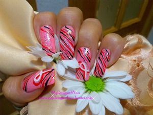 Think Pink! BCA nails. http://www.youtube.com/user/MyDesigns4You