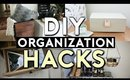 10 DIY Room Decor LIFE HACKS! Tumblr Organization 2017
