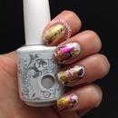 Foil Nail Art Gold