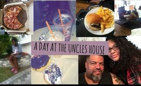 A DAY AT THE UNCLES HOUSE