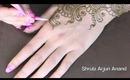 henna march arabic back