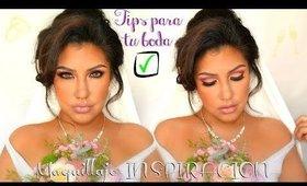 Idea de Maquillaje para BODA  + Tips IMPORTANTES ! | auroramakeup