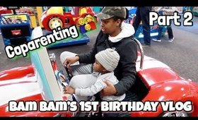 Bam 1st Birthday Part 2 | Co parenting