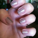 Simple and glitzy
