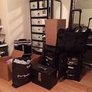 Moving!! Makeup madness!
