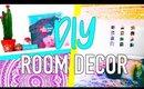 DIY Tumblr room decor 2016 + Room organization