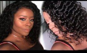 Amazon Beauty Forever Hair! HOW I MAKE THE LACE MELT! I AM NOT A PRO|Darbiedaymua