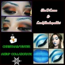 Talented LovelylilMakupaddict aka Ashley & I did a collaboration for our winter Christmas I was so excited and happy I did